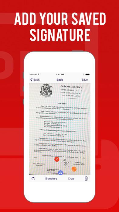 SCANER PDF Scanner app image