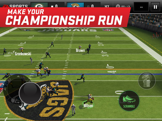 Screenshots of MADDEN NFL Mobile for iPad