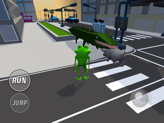 THE AMAZING FROG SIMULATOR 2017! screenshot 8