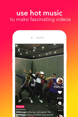 musical.ly screenshot 1