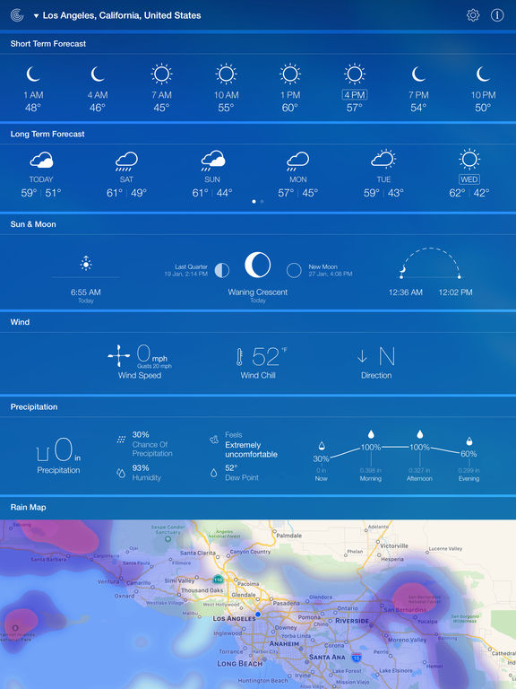 Screenshot #5 for Weather Live Free - Weather Forecast & Alerts