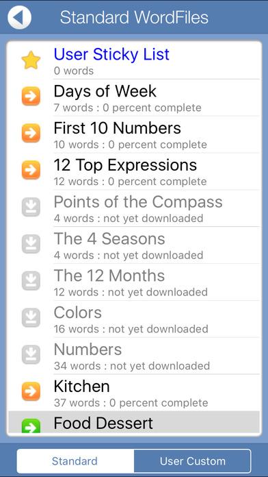 FREE Italian Audio FlashCards iPhone Screenshot 3