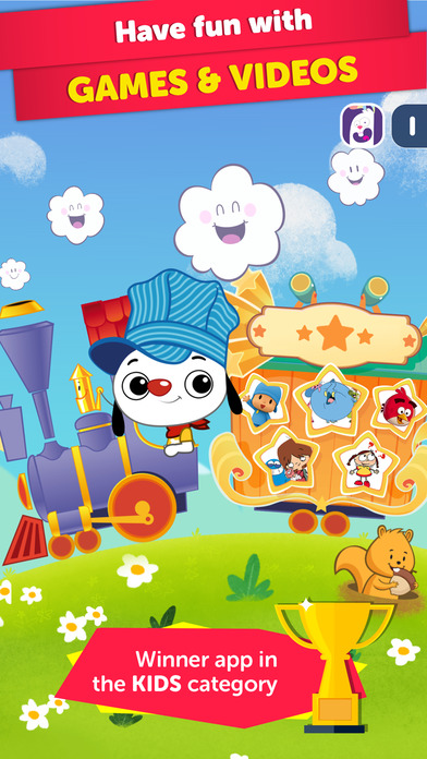 PlayKids - Educational Cartoons and Games for Kids app image