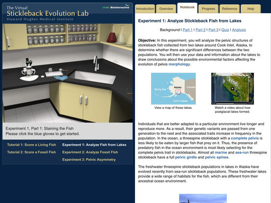 app shopper stickleback evolution virtual lab education. Black Bedroom Furniture Sets. Home Design Ideas