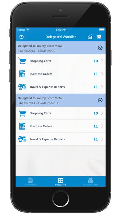 mWorklist – SAP Mobile Universal Approvals App screenshot 4