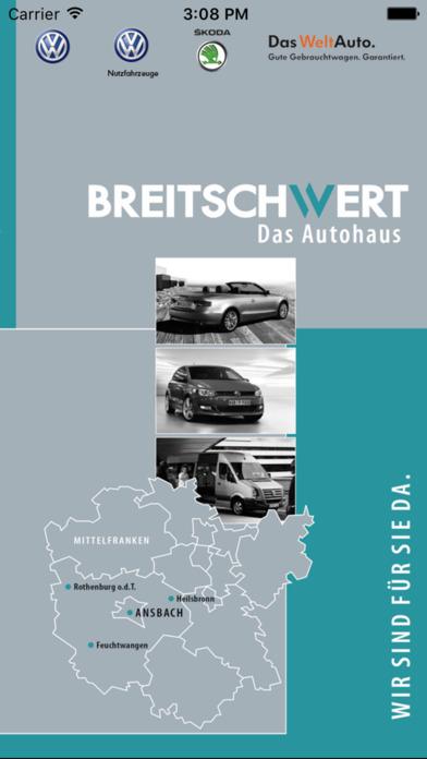 Breitschwert - Das Autohaus iPhone Screenshot 1