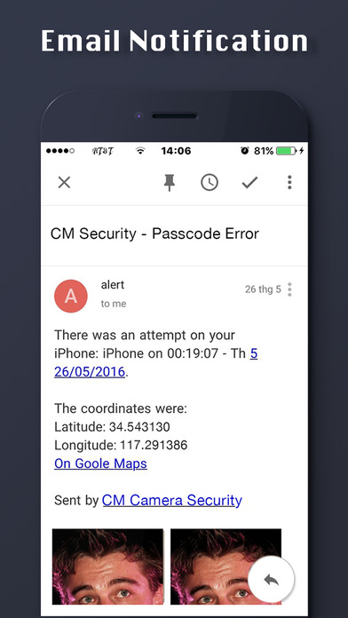 CM Security: Camera Security & Intruder Selfie screenshot 4