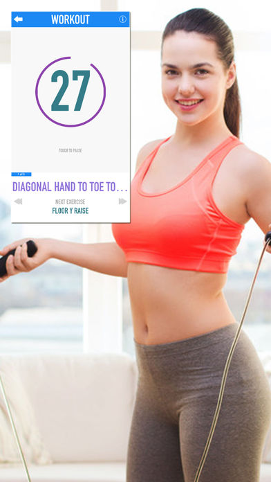 Full Fitness Challenge : Exercise  Workout Trainer Apps for iPhone/iPad screenshot