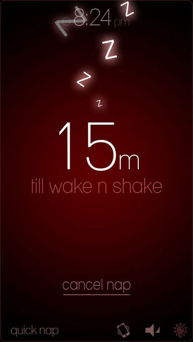 Wake N Shake Alarm Clock Screenshots