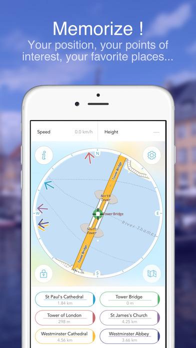 London on Foot : Offline Map Screenshots