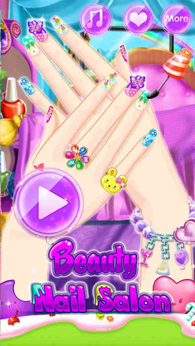 Beauty Nail Salon - Decoration games screenshot 2