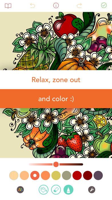 Pigment - Coloring Book for Adults screenshot 5