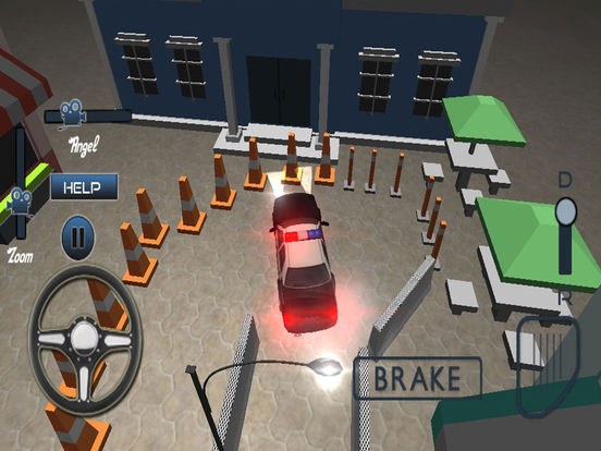 Modern Police Car Parking Simulator Pro screenshot 8