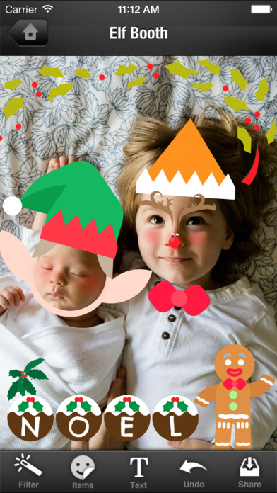dancing christmas elves app