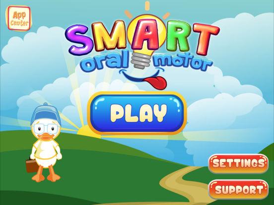 Smart Oral Motor iPad Screenshot 1