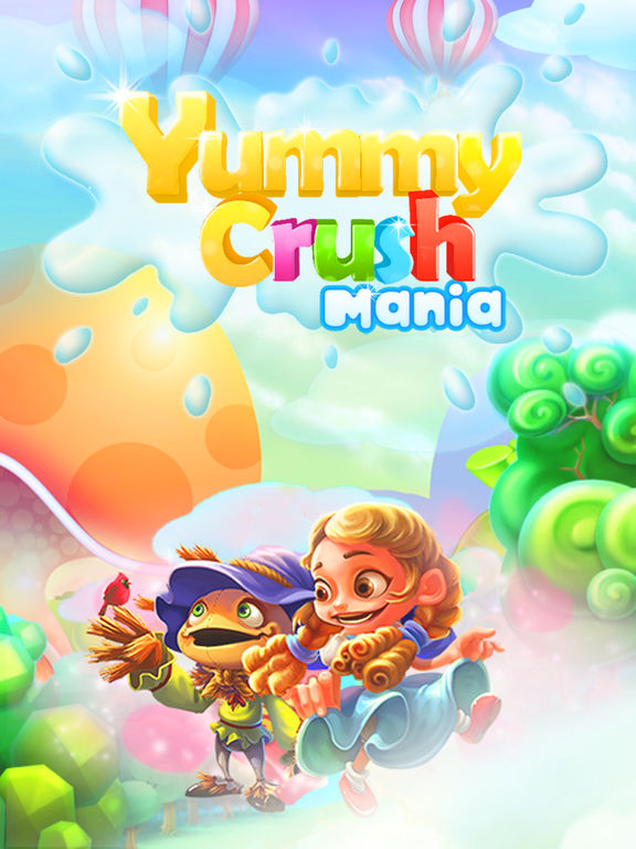 Игра Yummy Crush Mania - Quest of Candy Match 3 Games