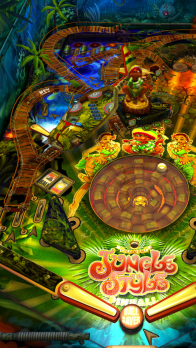 Jungle Style Pinball iPhone Screenshot 4