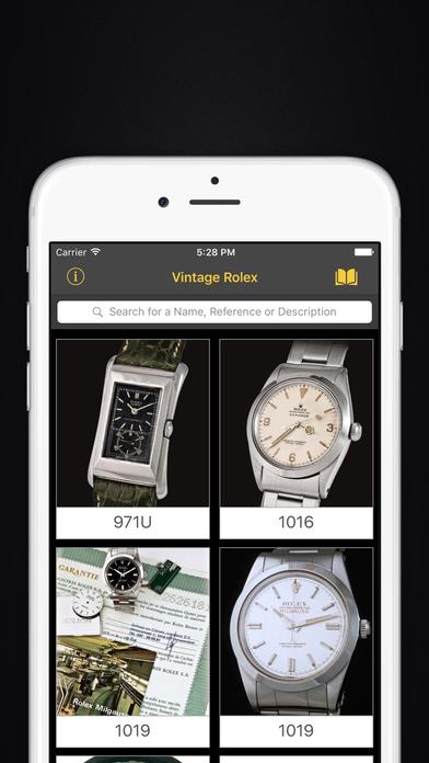 Vintage Rolex iPhone Screenshot 1