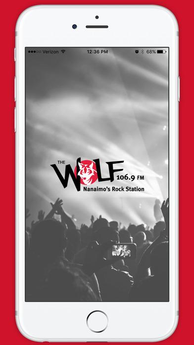 The Wolf-FM iPhone Screenshot 1