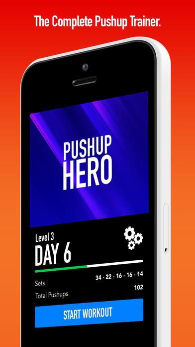 0 to 100 Pushups - Workouts & Tracker Screenshots