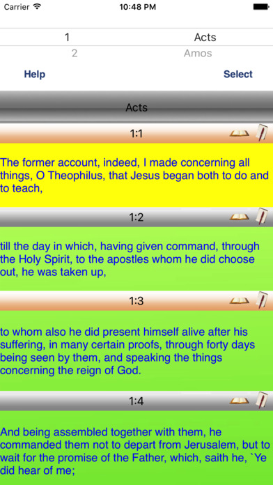 Youngs Literal Talking Bible Study iPhone Screenshot 1