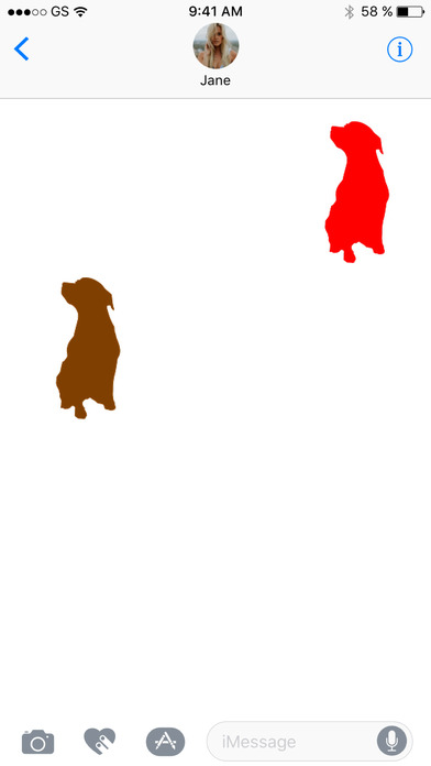 Dog Two Sticker Pack screenshot 3