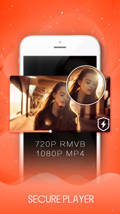Private Video Vault - Keep Lock Folder Safe App Apps free for iPhone/iPad screenshot