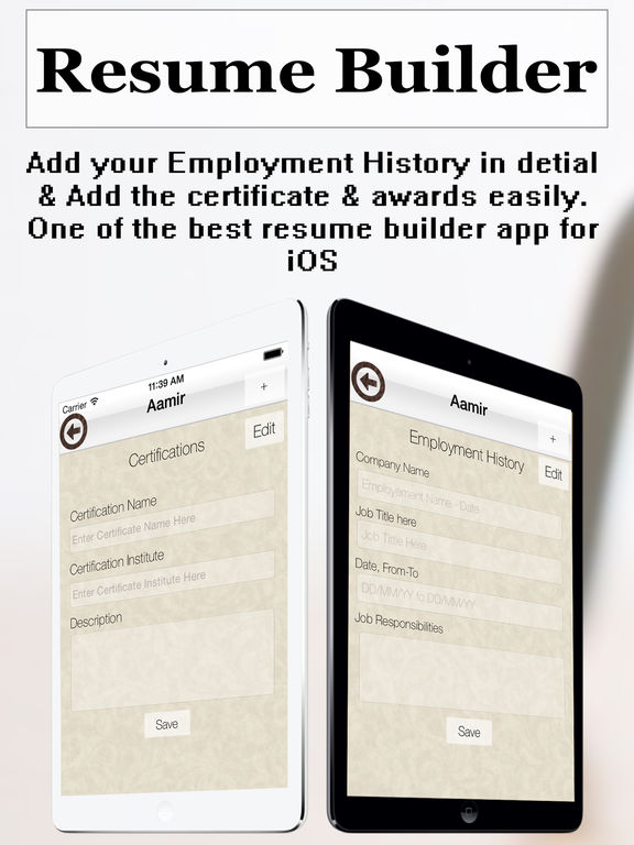 resume builder plus cv maker and resume designer on the app store