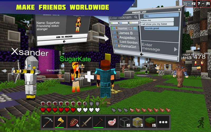 Planet of Cubes Screenshot