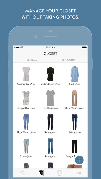 Cladwell - Daily Outfits From Your Closet Apps free for iPhone/iPad screenshot