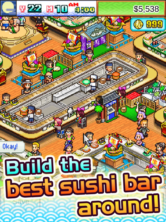 The Sushi Spinnery для iPad