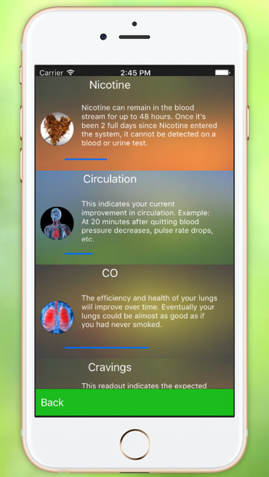 Stop Smoking in Five Days- Leopard Edition iPhone Screenshot 4