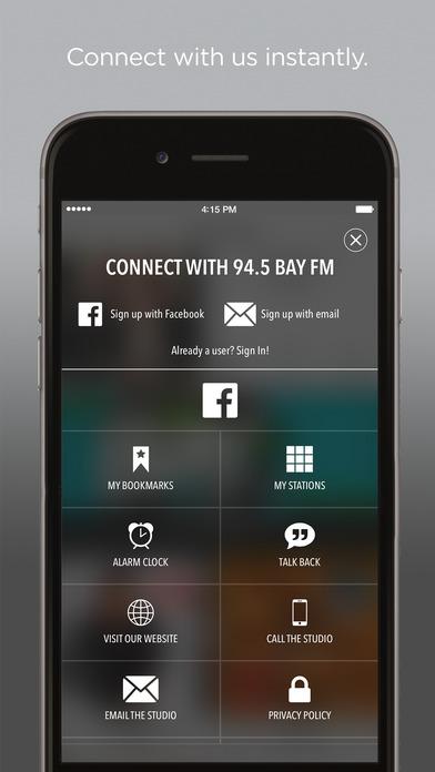 94.5 KBAY iPhone Screenshot 2