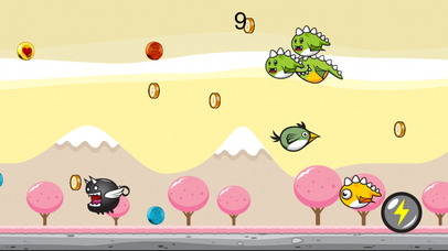 Greeny Bird Cotton Candy World Dasher screenshot