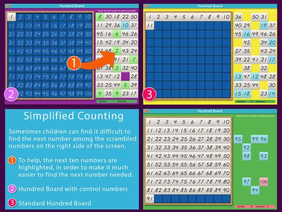 A Montessori Approach to Math - Hundred Board iPad Screenshot 2