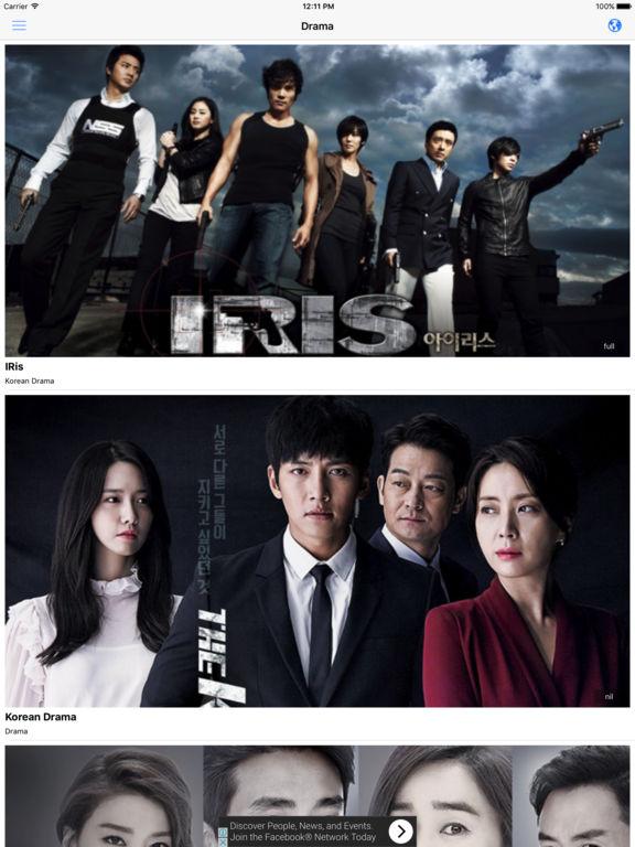 korean drama on ipad