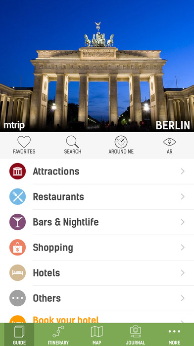 Berlin Travel Guide - mTrip iPhone Screenshot 1