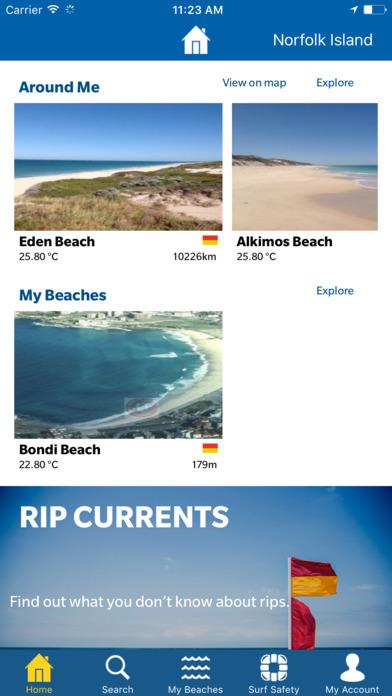 Beachsafe iPhone Screenshot 2