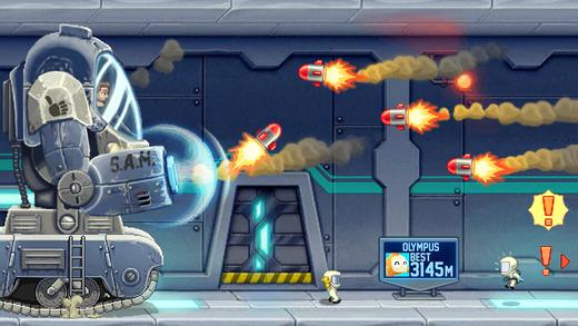 Jetpack Joyride Screenshot