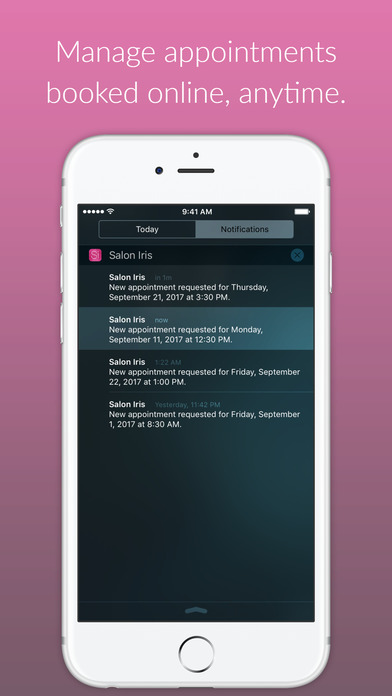 Salon Iris iPhone Screenshot 3