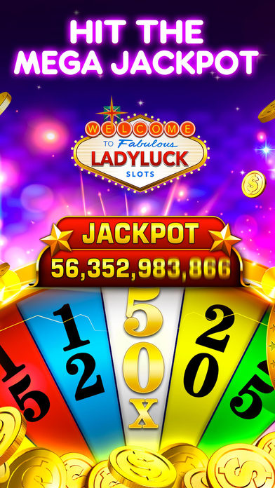 Screenshot 3 Ladyluck Vegas Casino Slots — Wild Vegas Casino
