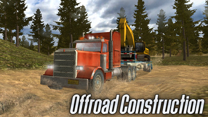 Offroad Construction Trucks Full screenshot 1