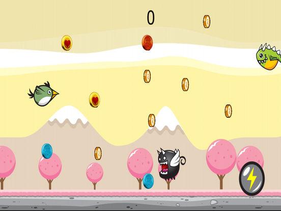 Greeny Bird Cotton Candy World Dasher screenshot 3