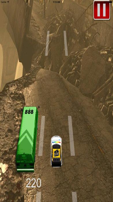 A Big Car Above Highway Pro : Four Wheels screenshot 2