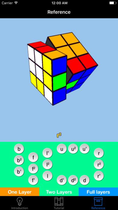 Cube CFOP - Fast Solution iPhone Screenshot 5