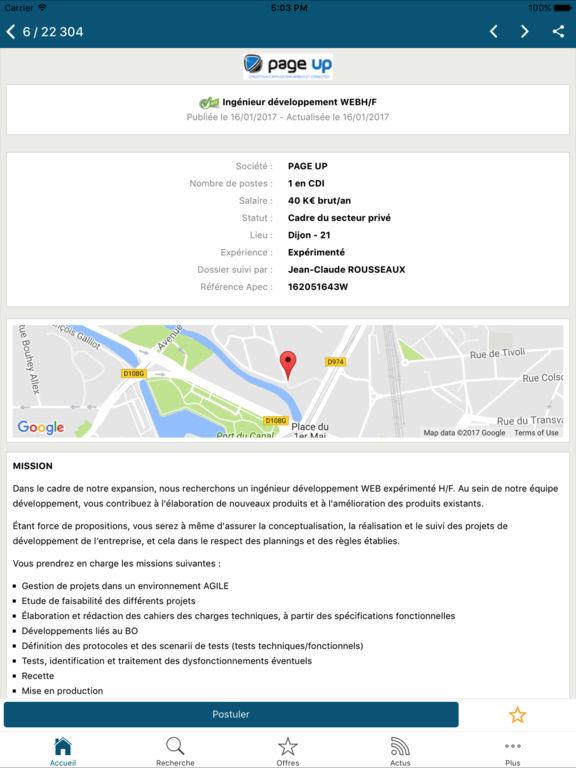 apec offres d emploi cadres apprecs
