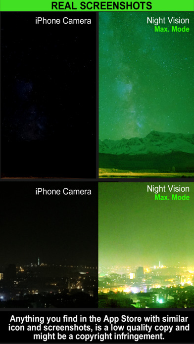 Night Vision Camera (Photo & Video) Screenshots