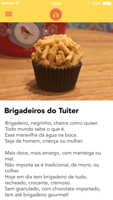 Brigadeiros do Tuiter screenshot