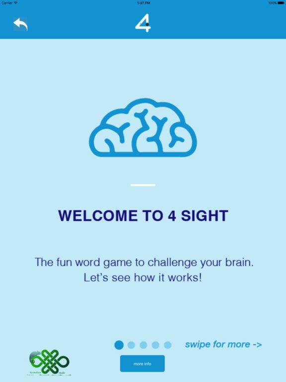 4SightPro - Lateral Thinking Word Challenge Game Screenshots