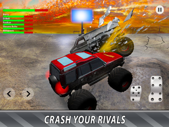 Monster Truck Derby: Bigfoot Arena Full для iPad